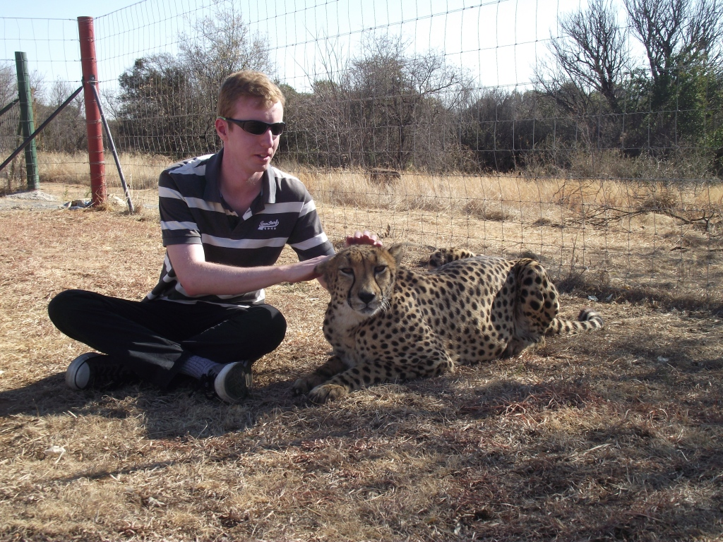 Me and the lovely Nala. My offer to model for Ray Ban has since been declined.