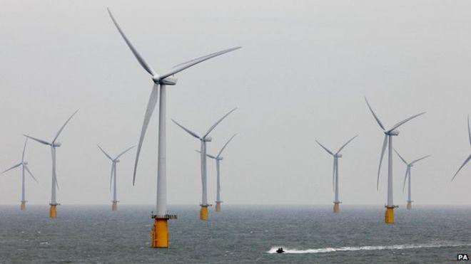 4 wind farms proposed on the East coast of Scotland